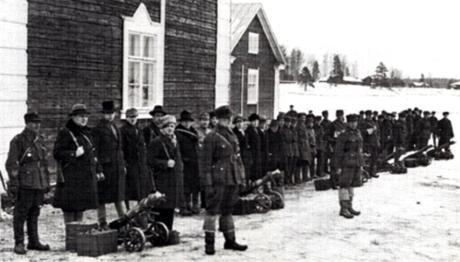 Kapinoitsijoita Mäntsälässä 1932.