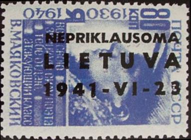 Post stamp 1941