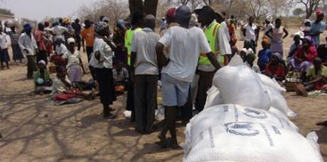 Zimbabween tulleita apulähetyksiä.
