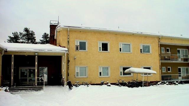 Pudasjärven vastaanottokeskus.