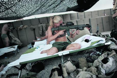 Ruotsalaissotilaita Afganistanissa.