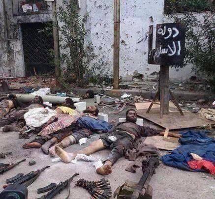 Terroristeilta löydettiin usein puolustusvoimille kuuluvia aseita.