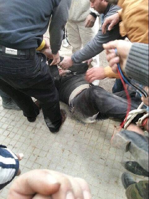 Terroristin pääsy paikalliseen moskeijaan onnistuttiin estämään.