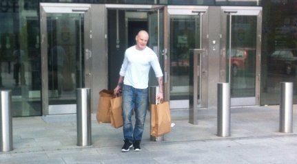 Emil Hagberg palasi kotiin!