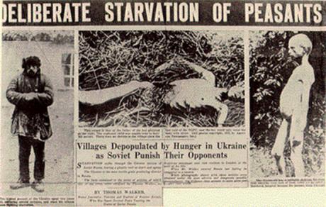 13. tammikuuta 2010 tuomioistuin Kiovassa totesi postuumisti juutalaisen Lazar Kaganovitšin syylliseksi kansanmurhaan tämän osallisuudesta Holodomoriin, jossa jopa 10 miljoonaa etnistä ukrainalaista näännytettiin tietoisesti kuoliaaksi. Lisätietoa Holodomorista on osoitteessa Holodomorinfo.com.