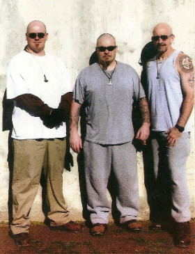 Richard Scutari (vas.) on tehnyt kauan aatteellista työtä Yhdysvaltojen vankiloissa.