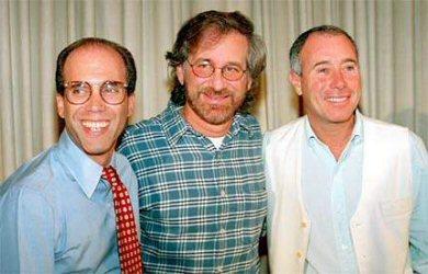 J. Katzenberg, S. Spielberg ja D. Geffen – kaikki juutalaisia.