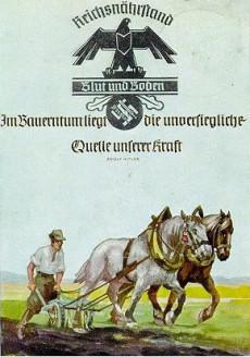 Yksi Kolmannen valtakunnan postikorteista.