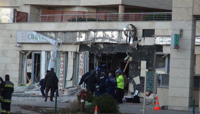 Budapestissa räjäytettiin vihattu pankki tammikuusa.