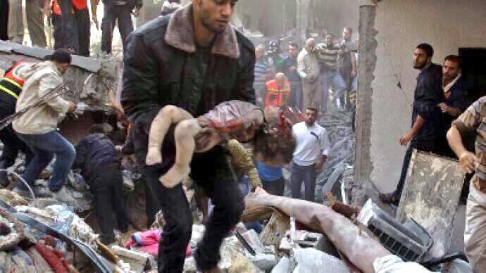 Israelin Gazan-hyökkäyksen satoa.