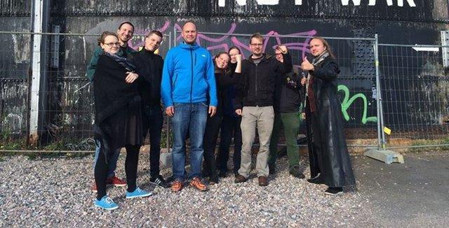 Lilleberg Koivulaakson vasemmalla puolella. Kuva Koivulaakson Facebook-sivuilta.