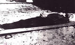 Józef Kuraś sairaalassa muutamaa tuntia ennen kuolemaansa.