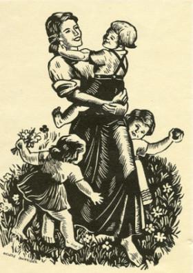 Perhe ja kansanterveys ovat kansallissosialismin perusarvoja.