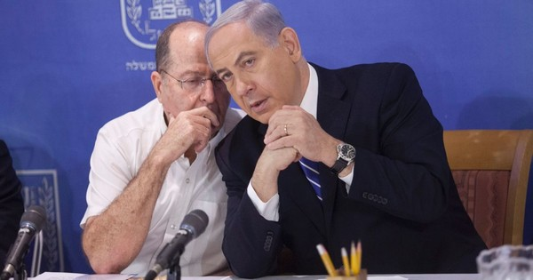 Netanjahu ja Ya'alon.