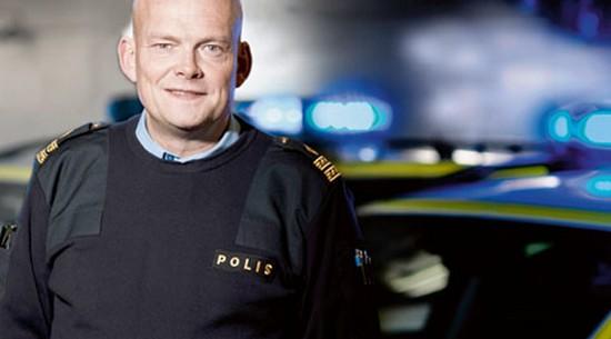 Södermalmin poliisipäällikkö Peter Ågren.