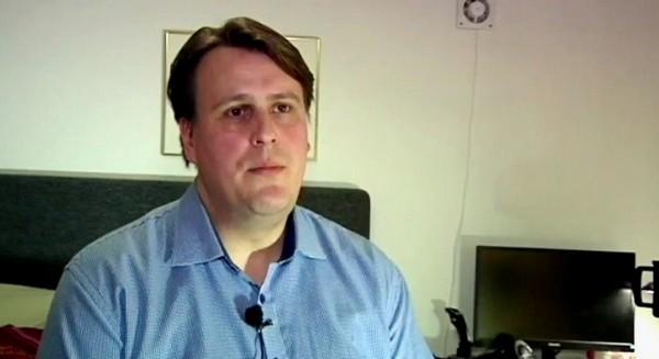 Andreas Glandbergeriltä evättiin vuokra-asunto.