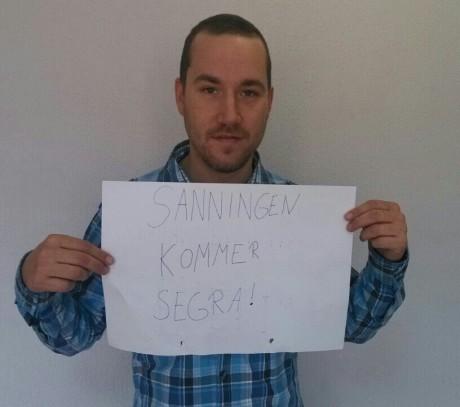 """Andreas Carlsson: """"Totuus tulee voittamaan!"""""""