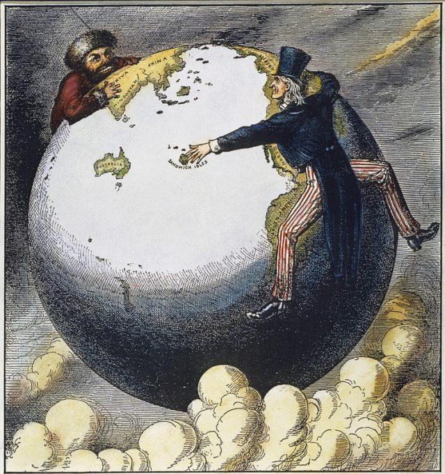 Imperialismi on kansallismielisyyden vastakohta.