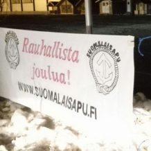 Suomalaisapu toivottaa hyvää joulua!