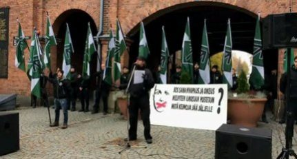 Video Petri Nordmanin puheesta Tampereella