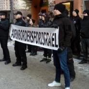 #OpenBordersForIsrael: tempaus Israelin suurlähetystöllä