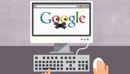 Google sensuroi Vastarintaliikettä!
