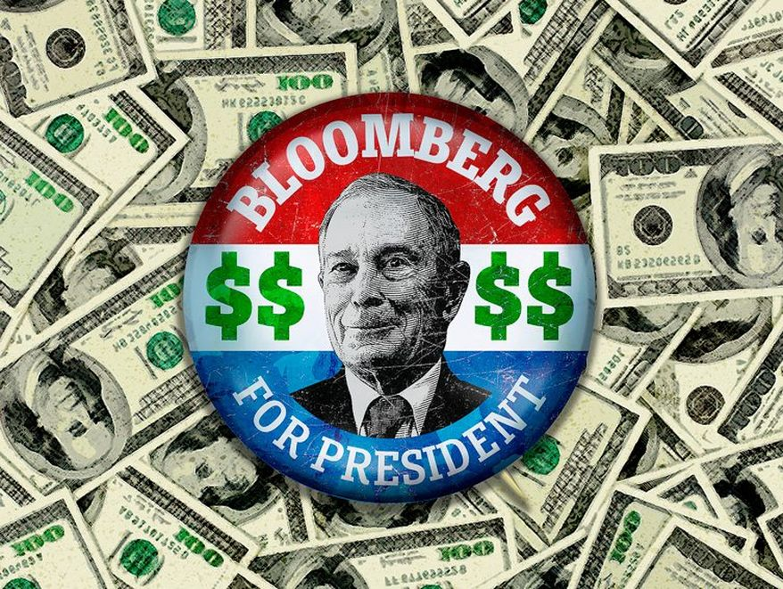michael bloomberg jew money zionist lobby
